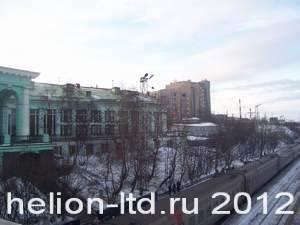 Вокзал города Мурманска