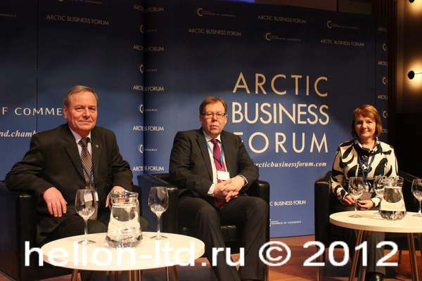 Arctic Business Forum 2012 - it's widen borders of Barents Euro-Arctic Region
