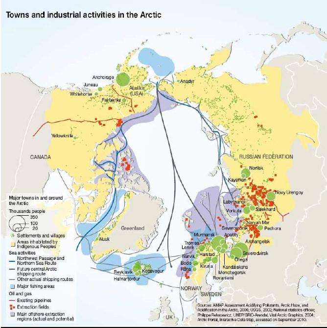 Хозяйственная деятельность в Арктике