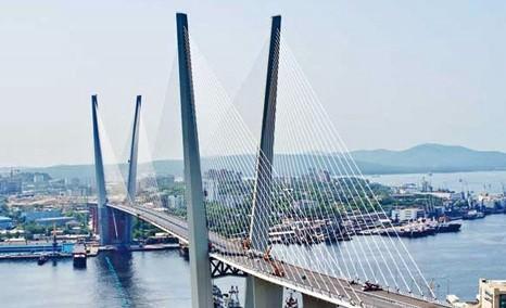 реализация строительства моста при помощи технологии преднапряжения - мост «Золотой Рог»