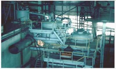 Производство алюмокремниевого коагулянта-флокулянта из нефелина на ОАО «Апатит»
